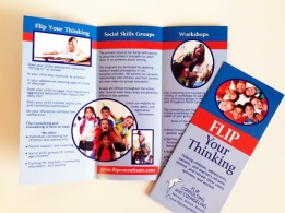 Flip brochure